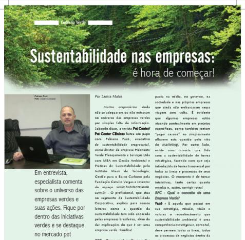 $ustentabilidade nas Empresas: É hora de começar !