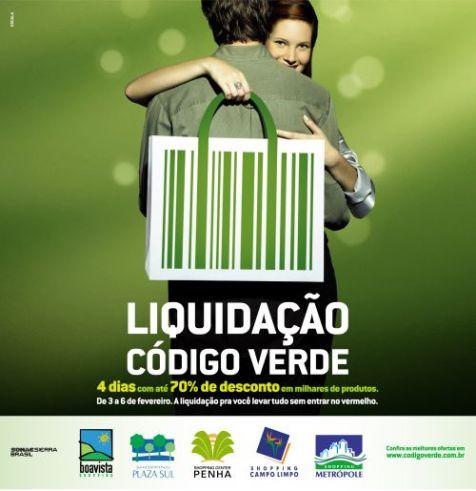 Liquidação Código Verde